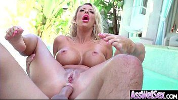 Bitch nasty oiled cutie courtney taylor with large round booties love anal sex movie-25