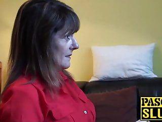 Divorced aged lady pandora enjoys having uncomplaining sex