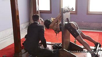 2 tied slaves coarse pumped in trio