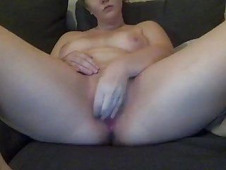 Tumblr angel masturbates with large dark sextoy